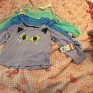 Cat & Jack Shirts size 4T Bundle